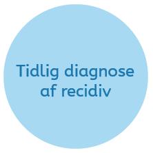 Tidlig diagnose af recidiv